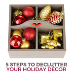 5 Steps to Declutter Your Holiday Decor